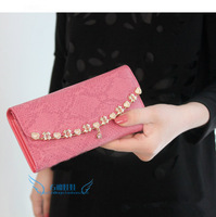 2013 ladies elegant serpentine pattern, gold flower women's wallet,women handbag,Carteira Feminina,Cartera ,portefeuille femme,