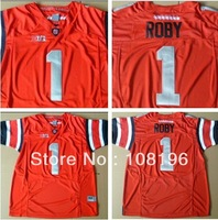 Free Shipping 2013 Newest   BIG patch Ohio State Buckeyes #1 Bradley Roby College Football Jerseys size 48~56, Mix Order,
