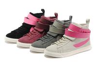 High Top Women Sports Shoes Women Sneaker Women Plimsoll Women Sneaker Free Shipping