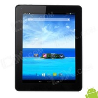 "AM980 9.7"" Android 4.2 MTK8389 Quad Core GPS 3G Phone call Tablet PC w/ 1GB RAM / 8GB ROM / 2 x SIM / HDMI - Silver + Black"