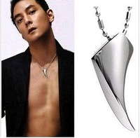Spike pendant titanium male pendant necklace short design fashion spike  1 pieces