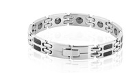 Male bracelet fashion 316l titanium male bracelet health care magnetic radiation-resistant bracelet  1 pieces