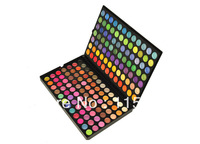 Free Shipping 168#2 Full Color Professional Eyeshadow Palette For Smoked Eyes Primer Makeup Set