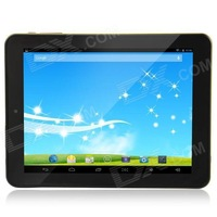 "TOP808 8"" Android 4.2 Quad Core Tablet PC w/ 1GB RAM, 8GB ROM, TF, WiFi, HDMI - Golden + Black"