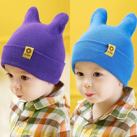 3453 princess child autumn cap pocket hat baby cotton hat double spring and autumn