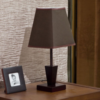 Wool vintage fashion modern Wooden  style bedroom bedside lamp decoration table lamp
