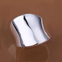 R052 Free Shipping hot sale 925 silver Rings| high quality silver Rings| wholesale fashion Jewelry Silver Plate 100pcs/Lots