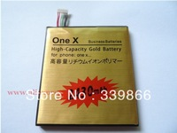 FREE SHIPPING FOR GLOD 2430MAH HIGHCAPACITY REPLACEMENT BATTERY FOR HTC ONE X battery