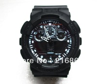 Free shipping! Led GA 100 watch Display sports Unisex watch ga100 GA110 digital watch + box reserve watch cell GA 100 watches