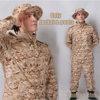 2014 New!ACU Desert degital Camouflage suit sets Army Military uniform combat Airsoft uniform -Only jacket & pants