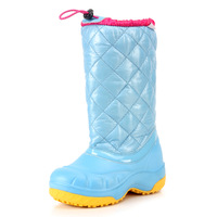 Heren winter boots fashion knee-high japanned leather slip-resistant water-resistant waterproof snow boots Women