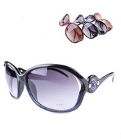 Vintage Sunglasses Fashion Sun Glasses Sun Shading Womens With Box  Free Shipping