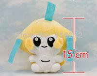 Best Selling 5.9 inch Japanese Cartoon Anime Pokemon Jirachi Baby Animal Stuffed Plush Doll Child Toy For Gift Free Shipping