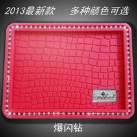 Car slip-resistant pad car diamond gharial non slip pad mobile phone slip-resistant silica gel pad