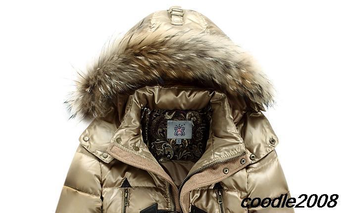 duck down jacket men casual dress natural fur coat Raccoon collars long thicken parka men winter