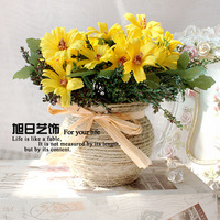 Free shipping Classic 5 beauty artificial flower set multicolor