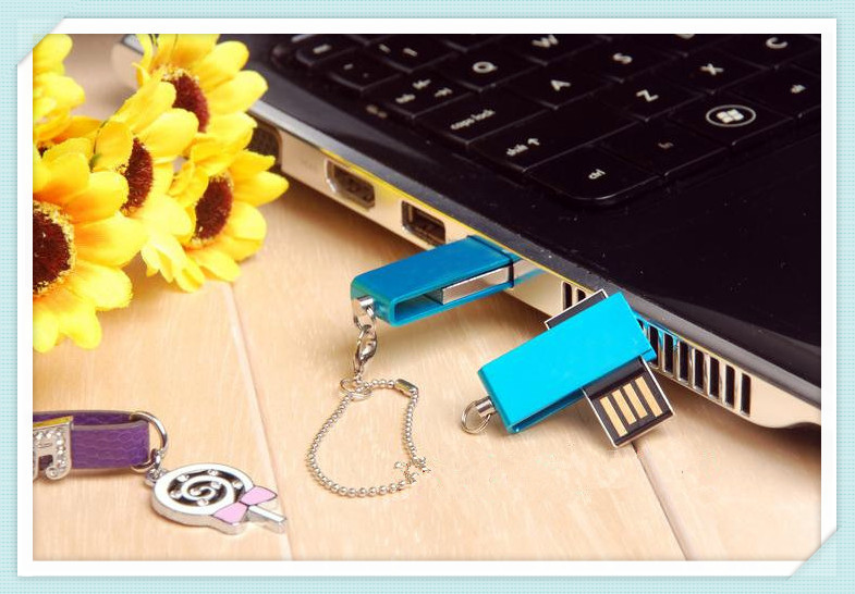 Hot!1pcs free shipping usb flash drive 8gb /16gb /32gb /64gb/ Special elf metal rotary creative USB Flash Memory stick pen drive(China (Mainland))