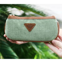 Korea stationery vintage fluid two-color pencil case