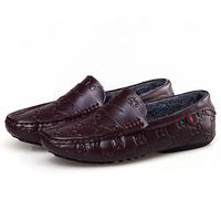 Крокодил шаблон Кроссовки мужские клина сапоги пу Туфли повседневные удобные кроссовки мужчин бренд