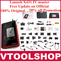 30% off Promotion!! [Dealer Code:86A] 2013 New arrival 100% Original Launch X431 IV master update on Offcial site in any country