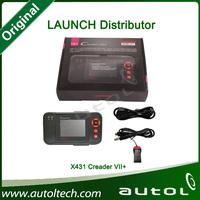 Original Launch X431 Creader VII Plus Creader 7Plus (CRP123) Creader VII+ Launch Creader 7+ Multi-Language Diagnostic Instrument