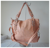 A101(pink) wholesale popular bag,,fashion ladys handbag,42x25cm,PU,7 different colors,two function,Free shipping