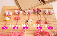 Cute Cartoon Sanrio Hello Kitty 3.5 mm in-ear Earphone Melod Headphone Cool Lovely Silicone Earphone Earplugs Free Gifts