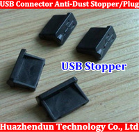Free shipping high quality USB Connector Anti-Dust Stopper/Plug for Laptop, PC, Desktop also have HDMI VGA STOPPER
