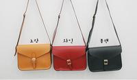 5 colors designers brand 2014 women leather messengers bag lady shoulder vintage desigual candy bag Retail and Wholesale