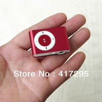 2013 hot sale Clip mp3 player as Christmas Gift with Retail Box & Micro TF/SD card slot  shipped by DHL/ Fedex Free Shipping