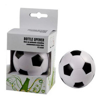 2013 Creative beer bottle opener -football design dia6.5cm Free shipping