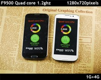 Flying F9500 S4 Quad Core MTK6589 Android 4.2.1 5.0 inch 720*1280 IPS Screen i9500 13.0 Camera GPS WiFi Unlocked 3G Smart Mobile