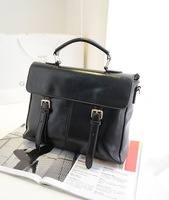 Free shipping 2013 women's winter handbag fashion preppy style vintage bag handbag shoulder bag