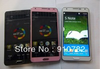 "1:1 Note 3   N9000 MTK6515 best sell S-view 1:1 original 5.7"" Note3 note  III  3MP 854x480 512m RAM 512M ROM Android 4.3"