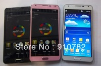 "Note 3   1:1  N9000 MTK6515 best sell S-view 1:1 original 5.7"" Note3 note  III  3MP 854x480 512m RAM 512M ROM Android 4.3"