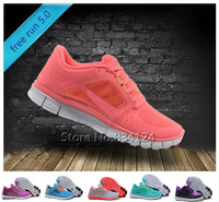 Free Shipping new 2013 Women's free run +3 5.0 athletic running Shoes,Cheap brand name NK sport shoes for women