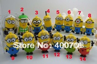 High quality! Newest pen drive cartoon toy Minions Despicable Me flash drive 2GB 4GB 8GB 16GB USB 2.0 Memory Stick usb disk