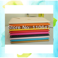 "7"" Tablet Envelope Bag Case Leather Folio Slim Sleeve Cover For 7inch Tablet PCs  Free Shipping"