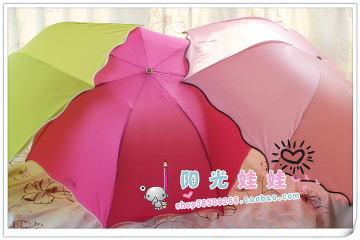 Water color umbrella pencil umbrella elargol structurein ultrafine umbrella apollo umbrella(China (Mainland))