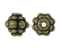 Free shipping!!!Zinc Alloy Jewelry Beads,2013 Womens, Lantern, antique bronze color plated, nickel, lead & cadmium free, 8x8mm