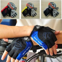 1pair Free Shipping Hotsale Racing Cycling Bike Bicycle Gel Half Finger Gloves Size M L XL 4 Colors