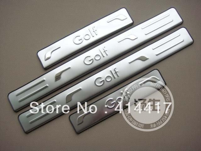 2010-2012 Volkswagen Golf 6 MK6 High quality stainless steel Scuff Plate/Door Sill bgg(China (Mainland))