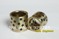 AE AE AE 1pc 8*12*15mm JDB Graphite Lubricating Brass Bearing Bushing Sleeve Oilless