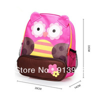 2013 New Trends ! Cute Cartoon Schoolbags for children,backpacks shoulder Animals Satchel 33*28*14 Free shipping
