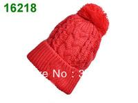 Free Shipping 2013 New Women Winter Wool Hat Beanie for Women Outdoors Knitting Hat for Men Ear Warm Cap Sport Hats Wholesale