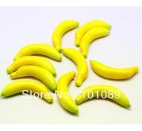 Free shipping fake fruits banana as educational toy