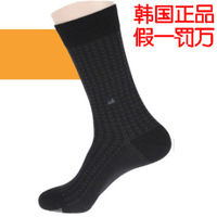 Korea Socks anti-odor male commercial breathable stockings net brief 1lot=10pair wholesale made in korea Good quality hight