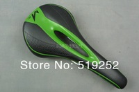 MISSILE A1 Cushion / Mountain bike saddle / bike saddle / bicycle cushion / bike bicycle parts Black with green