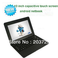 Free Shipping Allwinner A31 quad core 1.5 GHZ dual channel 10 inch capacitive touch screen android netbook