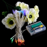 Holiday Outdoor 30 LED String Lights 3M Christmas Xmas Wedding Party Decorations Garland Lighting Battery Powered
